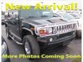 Hummer H2 SUV Black photo #1