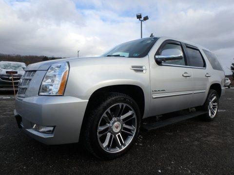 Radiant Silver Metallic 2012 Cadillac Escalade Premium AWD