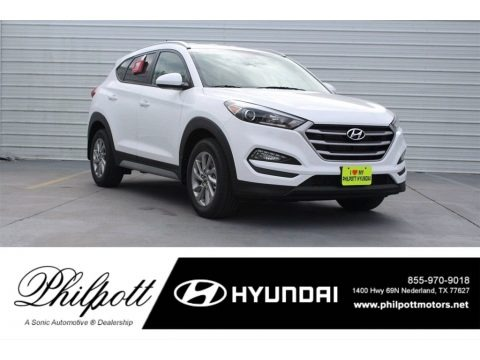Dazzling White 2017 Hyundai Tucson SE