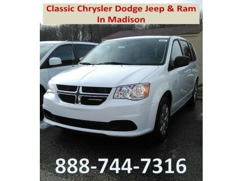 White Knuckle 2018 Dodge Grand Caravan SE