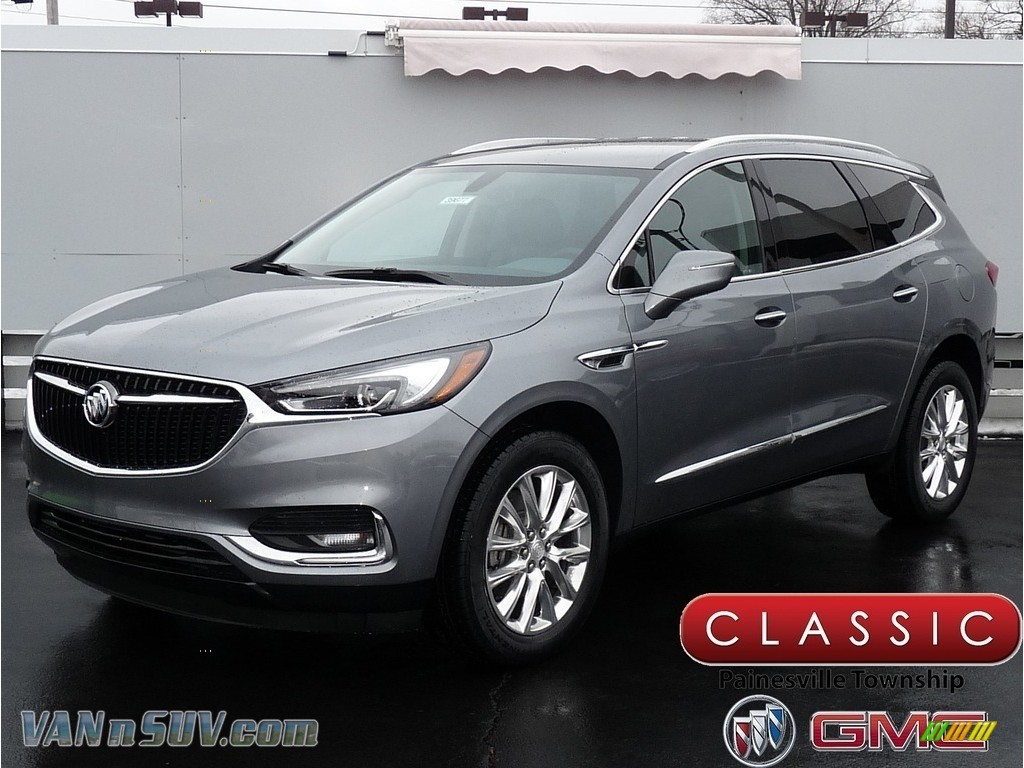 Satin Steel Metallic / Dark Galvanized Buick Enclave Essence AWD