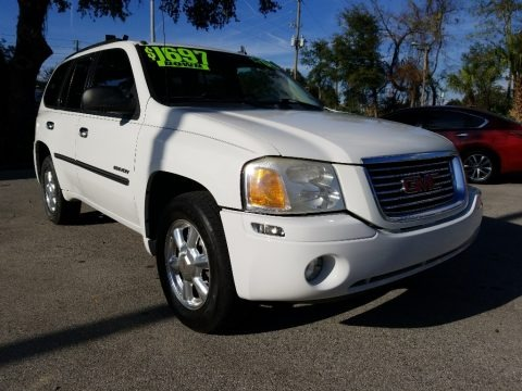 Summit White 2006 GMC Envoy SLE