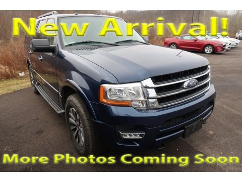 Blue Jeans Metallic 2015 Ford Expedition XLT 4x4