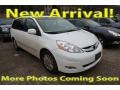 Toyota Sienna XLE Super White photo #1