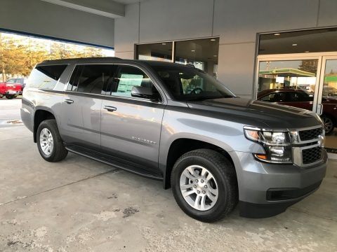 Satin Steel Metallic 2018 Chevrolet Suburban LS 4WD