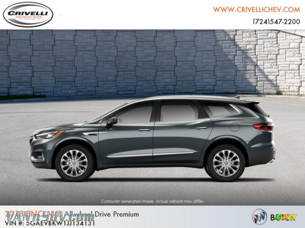 2018 Enclave Premium AWD - Dark Slate Metallic / Shale photo #1