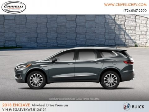 Dark Slate Metallic 2018 Buick Enclave Premium AWD