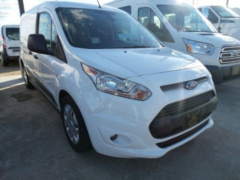 Frozen White 2018 Ford Transit Connect XLT Van