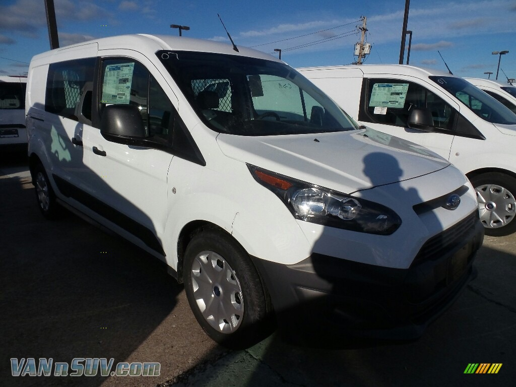 2018 Transit Connect XL Van - Frozen White / Charcoal Black photo #1