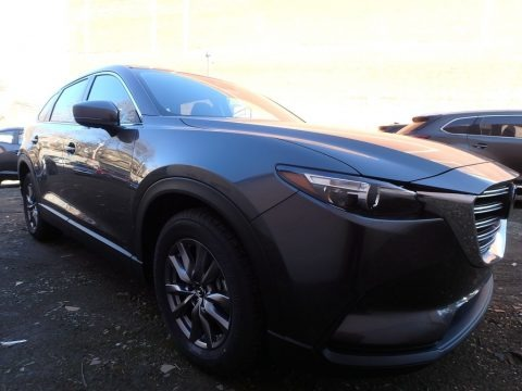 Machine Gray Metallic 2018 Mazda CX-9 Sport AWD