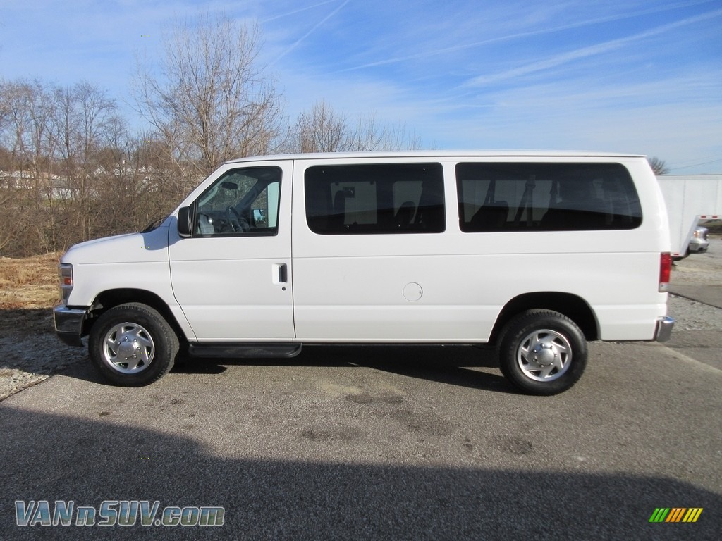 2010 E Series Van E350 XLT Passenger - Oxford White / Medium Flint photo #1