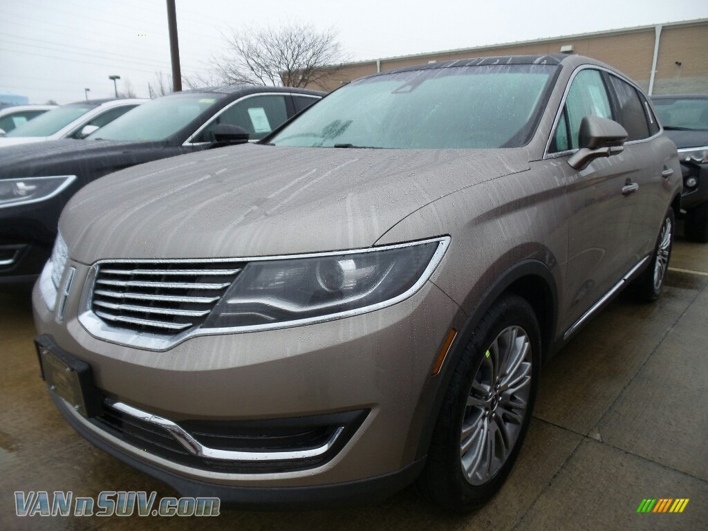 2018 MKX Reserve AWD - Iced Mocha Metallic / Cappuccino photo #1