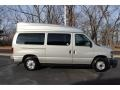 Ford E Series Van E350 Super Duty XLT Passenger Brilliant Silver Metallic photo #2