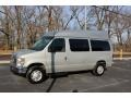 Ford E Series Van E350 Super Duty XLT Passenger Brilliant Silver Metallic photo #3