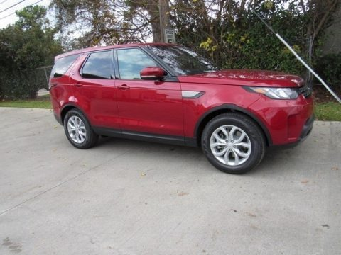 Firenze Red 2017 Land Rover Discovery SE