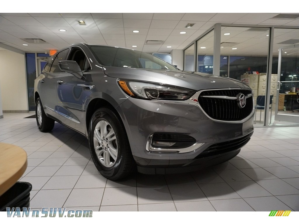 Satin Steel Metallic / Shale Buick Enclave Essence