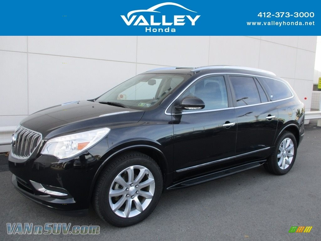 Carbon Black Metallic / Ebony Buick Enclave Premium AWD
