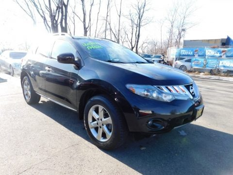 Super Black 2009 Nissan Murano SL AWD
