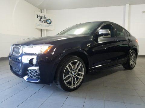 Jet Black 2018 BMW X4 M40i