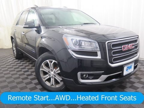 Carbon Black Metallic 2014 GMC Acadia SLT AWD