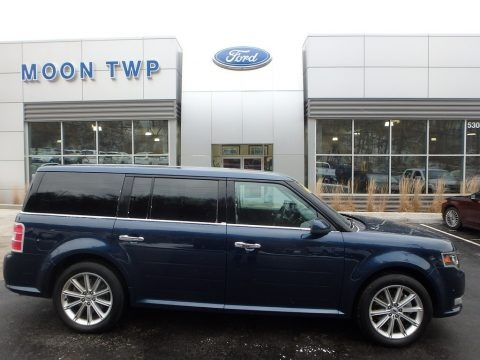 Blue Jeans 2017 Ford Flex Limited AWD