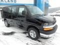 Chevrolet Express 2500 Cargo WT Black photo #2