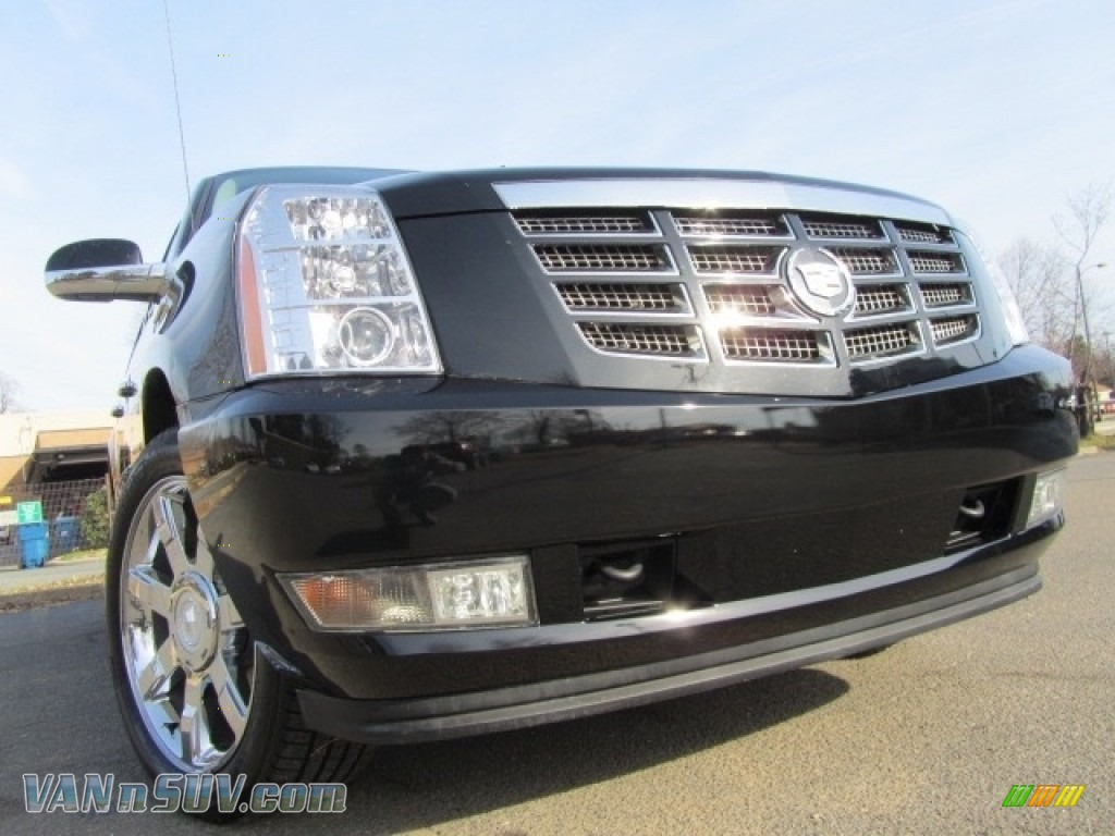 2007 Escalade EXT AWD - Black Raven / Ebony/Ebony photo #1
