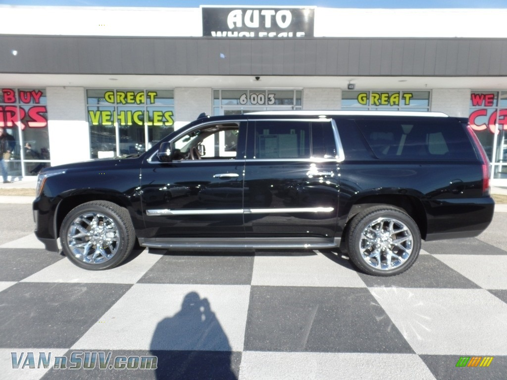2016 Escalade ESV Luxury 4WD - Black Raven / Shale/Cocoa photo #1