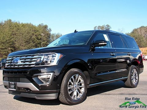 Shadow Black 2018 Ford Expedition Limited 4x4