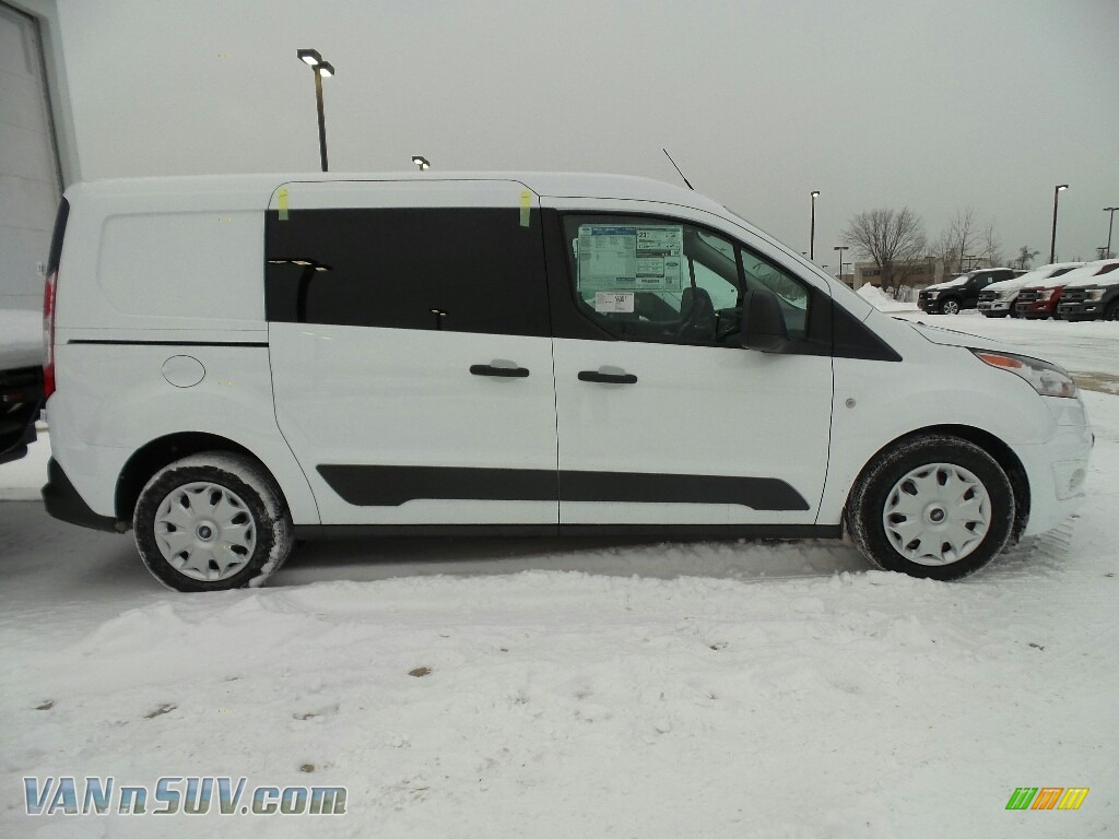 2018 Transit Connect XLT Van - Frozen White / Charcoal Black photo #3