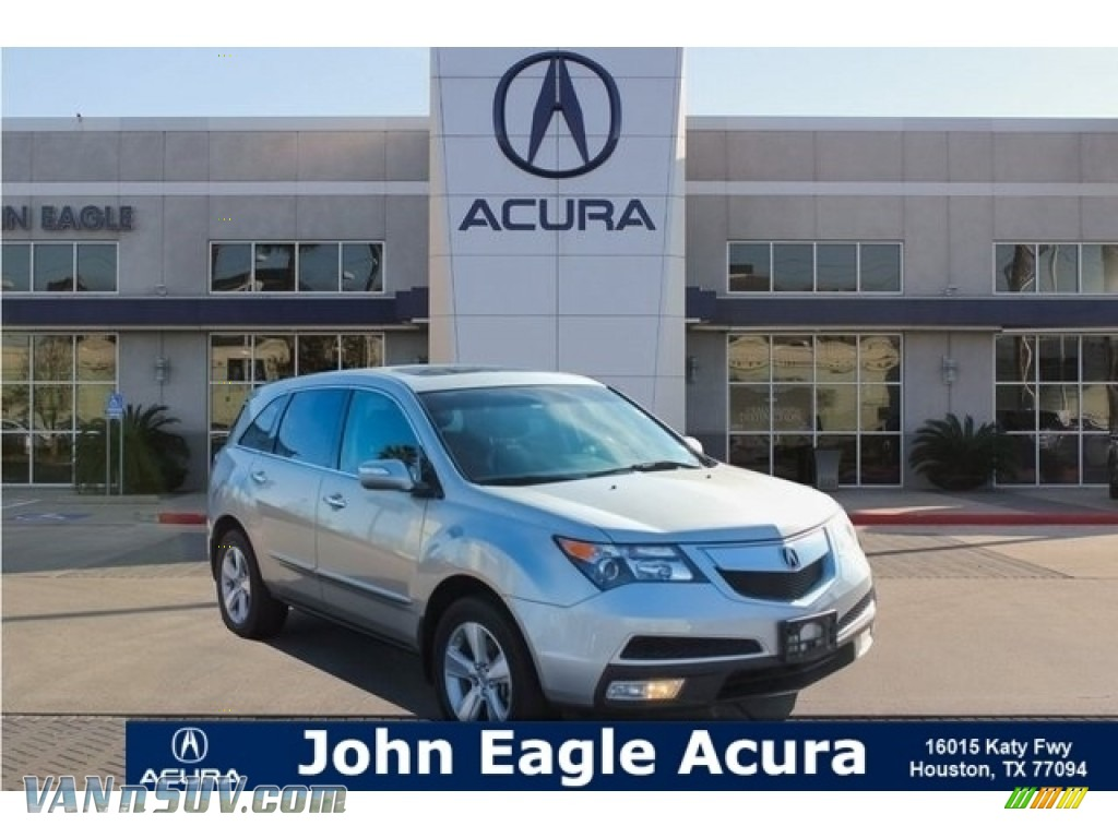 Palladium Metallic / Ebony Acura MDX Technology