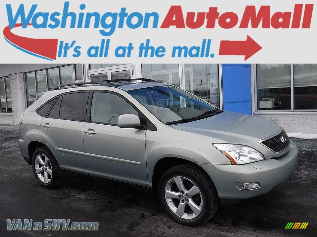 2007 RX 350 AWD - Bamboo Green Pearl / Ivory photo #1