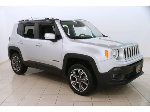 Glacier Metallic 2017 Jeep Renegade Limited 4x4