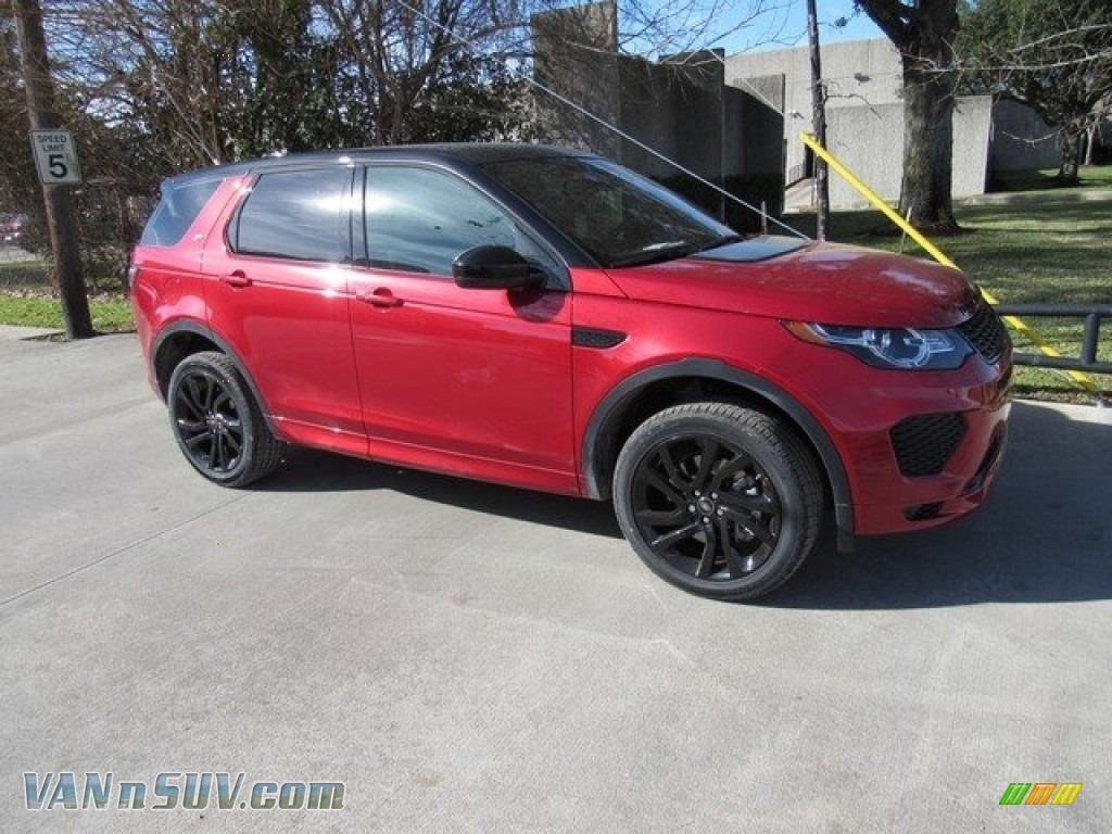 2018 Discovery Sport HSE - Firenze Red Metallic / Ebony/Pimento photo #1