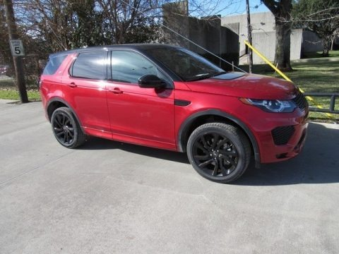 Firenze Red Metallic 2018 Land Rover Discovery Sport HSE