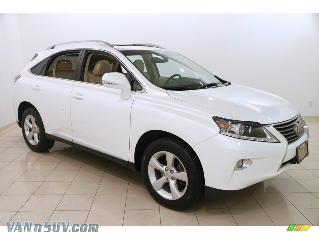 2013 RX 350 AWD - Starfire White Pearl / Parchment/Espresso Birds Eye Maple photo #1