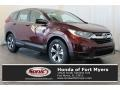 Honda CR-V LX Basque Red Pearl II photo #1