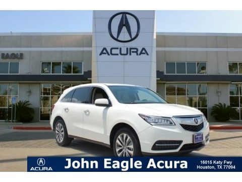 White Diamond Pearl 2016 Acura MDX Technology
