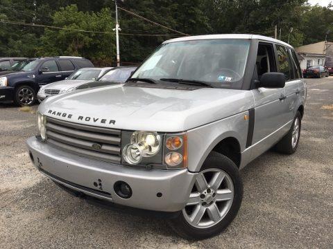 Zambezi Silver Metallic 2003 Land Rover Range Rover HSE