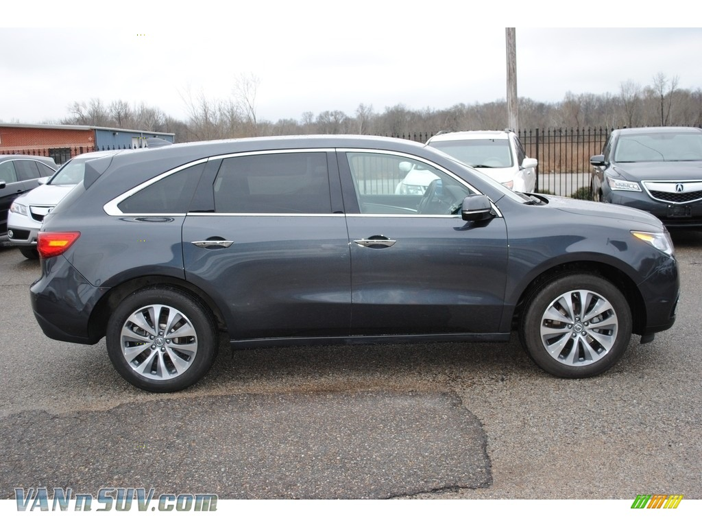 2015 MDX SH-AWD Technology - Graphite Luster Metallic / Graystone photo #6