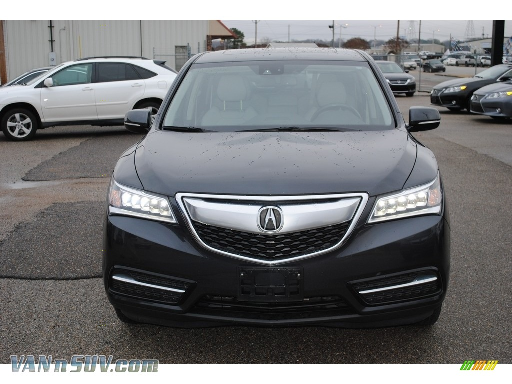 2015 MDX SH-AWD Technology - Graphite Luster Metallic / Graystone photo #8