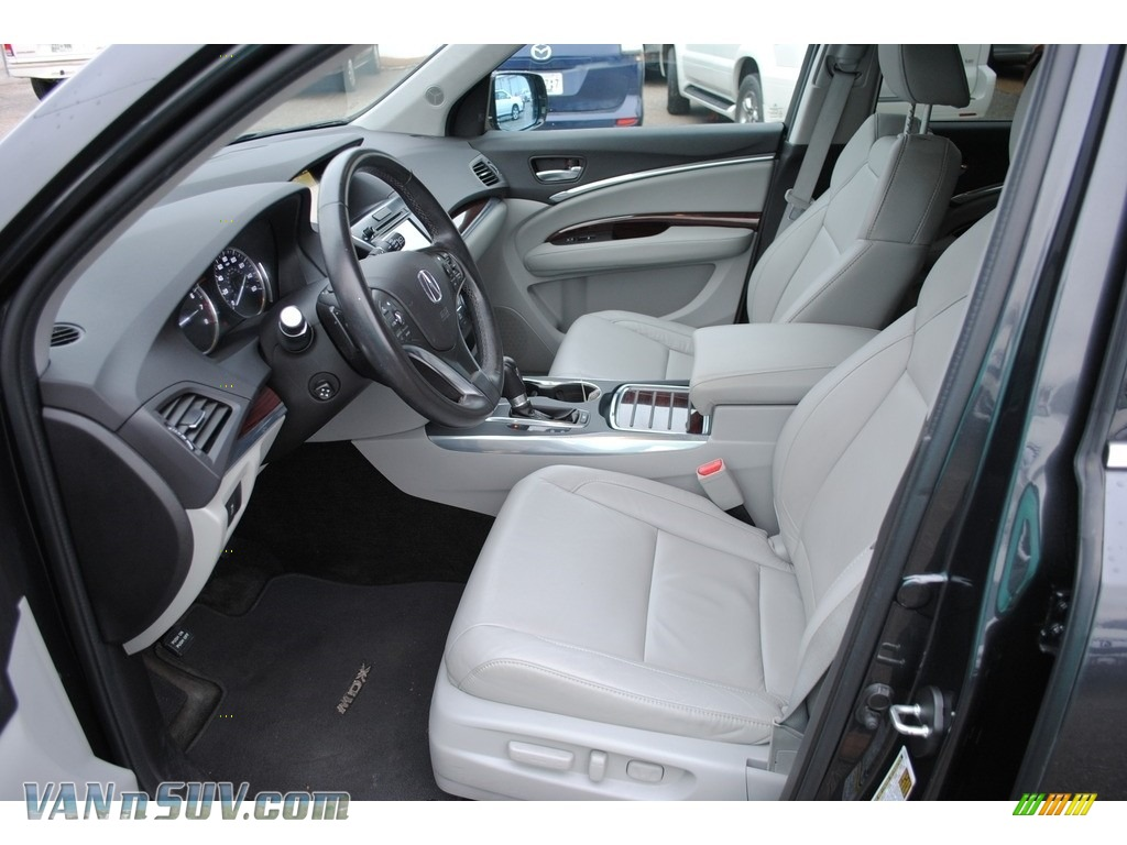 2015 MDX SH-AWD Technology - Graphite Luster Metallic / Graystone photo #11