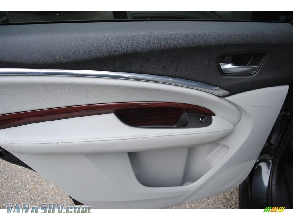 2015 MDX SH-AWD Technology - Graphite Luster Metallic / Graystone photo #25