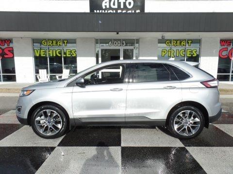 Ingot Silver 2016 Ford Edge Titanium