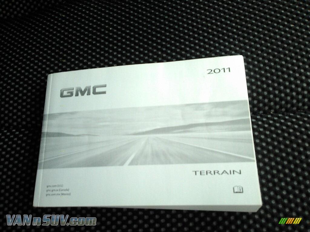 2011 Terrain SLE AWD - Olympic White / Jet Black photo #8