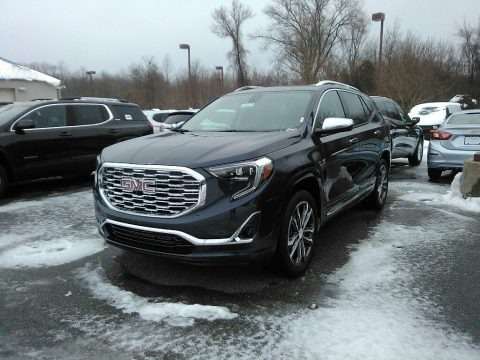 Blue Steel Metallic 2018 GMC Terrain Denali AWD
