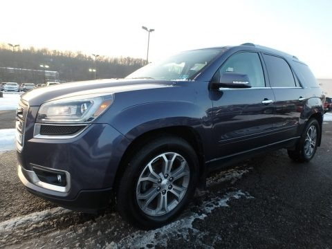 Atlantis Blue Metallic 2013 GMC Acadia SLT AWD