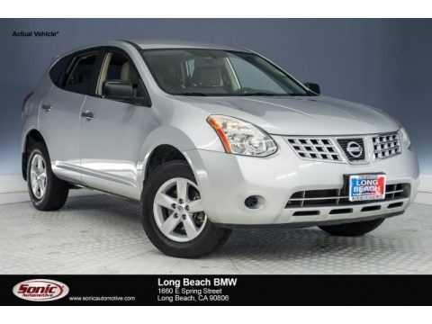 Gotham Gray 2010 Nissan Rogue S