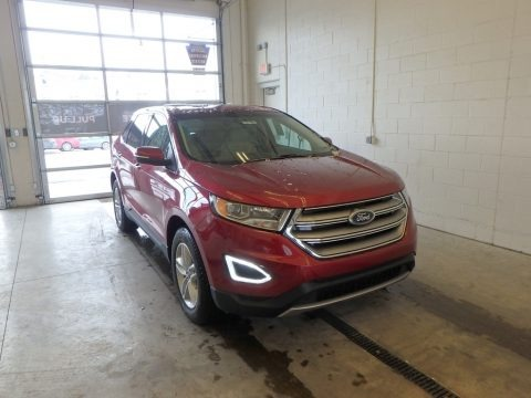 Ruby Red 2018 Ford Edge SEL AWD