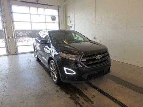 Shadow Black 2018 Ford Edge Sport AWD